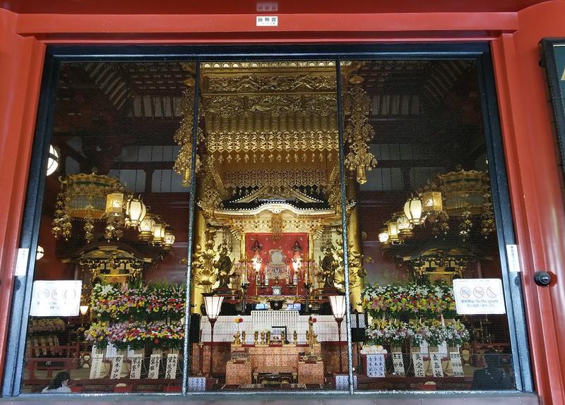 Grand temple interior