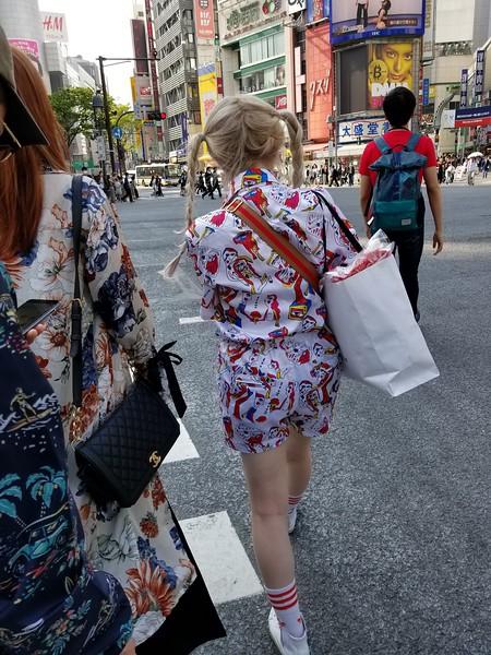 Fashionable street wear