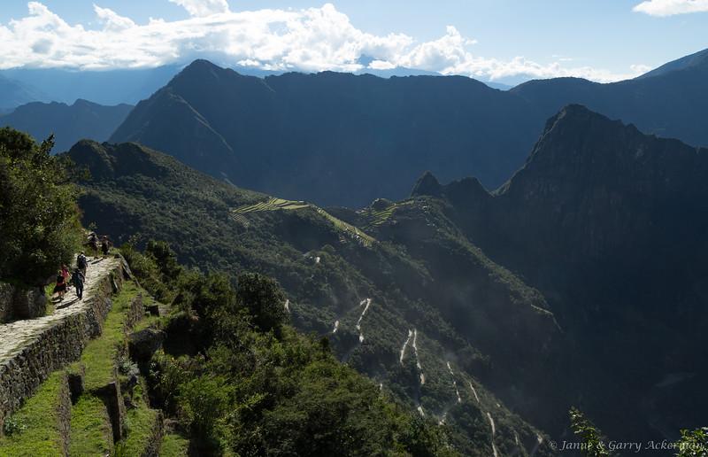 Sun Gate View of Machu Picchu