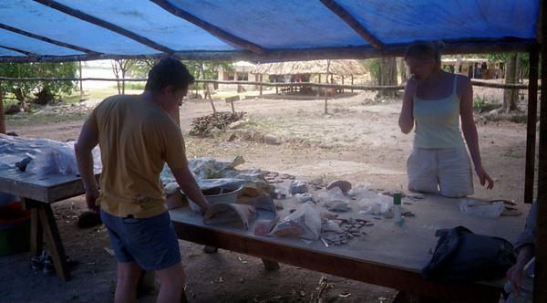 2001-4-17 Lamanai,Belize.0001 Our Belize Vacation