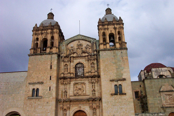 Oaxaca Cathedral. The churches were amazing!