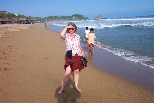 A stroll on Zipolite Beach