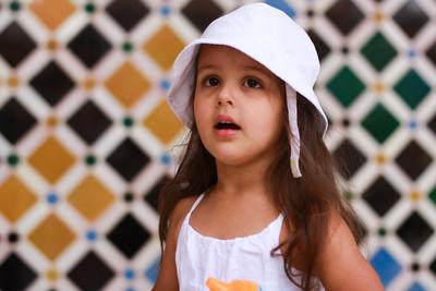 Friday family Alhambra tour; Sophia
