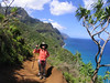 One of the most beautiful hike in US.  Kalalau Trail