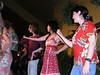 Circe, Karen and Angie doing some hula dance