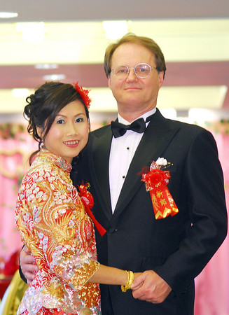Hong Kong Reception - Just the two of us