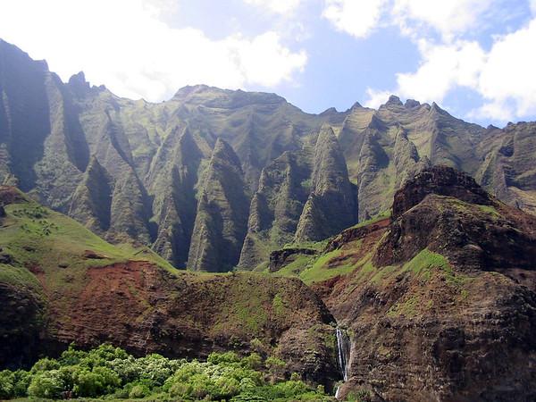 Kauai - Na Pali boat trip