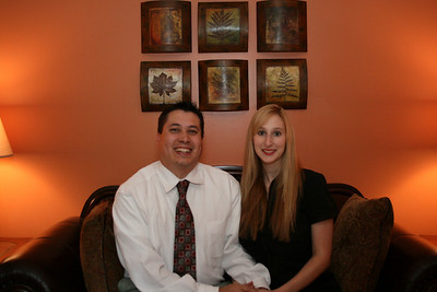 Our 2 year anniversary - Bham, AL.  Dinner at the Macaroni Grill.