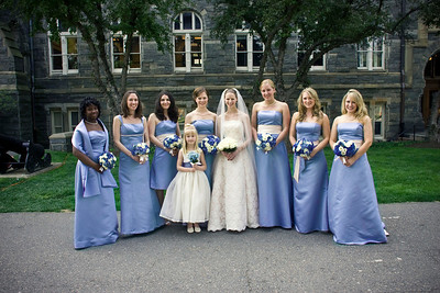 The bridal party - Washington, DC ... April 26, 2008 ... Photo by Holland Photo Arts
