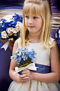 Laura, the flowergirl - Washington, DC ... April 26, 2008 ... Photo by Holland Photo Arts