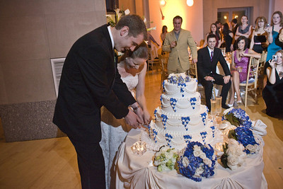 Cutting the cake - Washington, DC ... April 26, 2008 ... Photo by Holland Photo Arts
