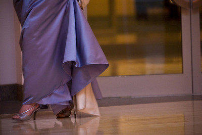 One of the bridesmaids walks in - Washington, DC ... April 26, 2008 ... Photo by Holland Photo Arts