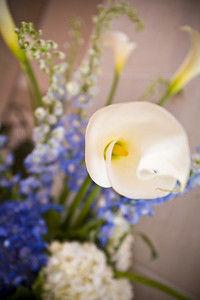 One of the flower arrangements - Washington, DC ... April 26, 2008 ... Photo by Holland Photo Arts