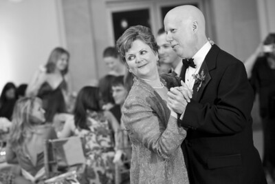Mom and Dad Conger dancing with and eye on Rob and Emily - Washington, DC ... April 26, 2008 ... Photo by Holland Photo Arts