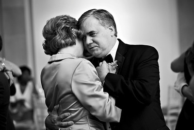 Mom and Dad Page share a dance - Washington, DC ... April 26, 2008 ... Photo by Holland Photo Arts