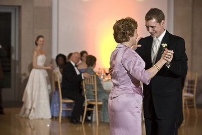 Rob dances with his mother - Washington, DC ... April 26, 2008 ... Photo by Holland Photo Arts