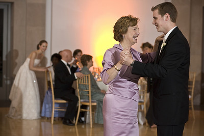 Rob dancing with his mom - Washington, DC ... April 26, 2008 ... Photo by Holland Photo Arts