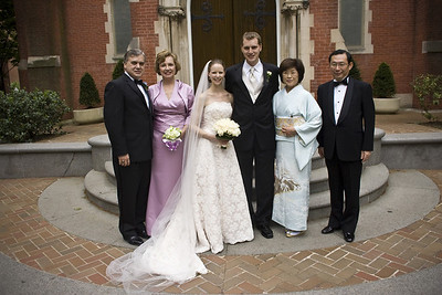 With the Page-Kato family - Washington, DC ... April 26, 2008 ... Photo by Holland Photo Arts