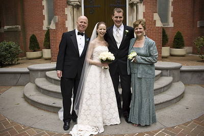 With the Conger parents - Washington, DC ... April 26, 2008 ... Photo by Holland Photo Arts
