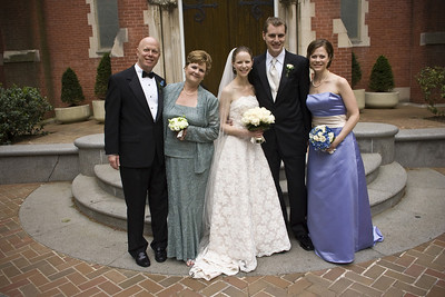 With the Conger family - Washington, DC ... April 26, 2008 ... Photo by Holland Photo Arts