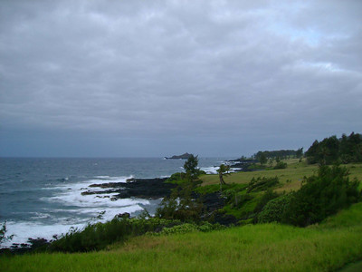 View from room in Hana.