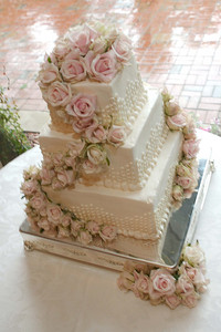 Bride's cake