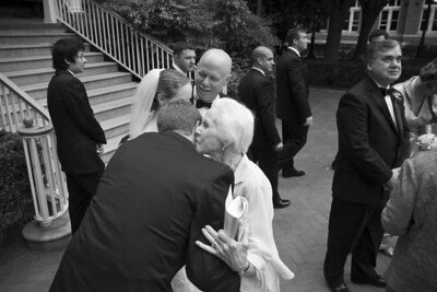Rob gives Grammy Conger a hug - Washington, DC ... April 26, 2008 ... Photo by Holland Photo Arts