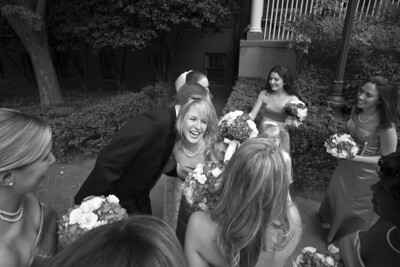 Outside the chapel after the wedding - Washington, DC ... April 26, 2008 ... Photo by Holland Photo Arts