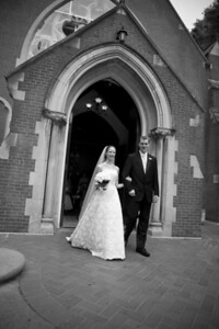 Walking out of the chapel - Washington, DC ... April 26, 2008 ... Photo by Holland Photo Arts