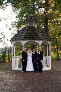 Groomsmen and the Bride