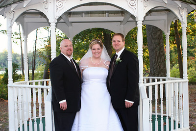 Ushers and the Bride