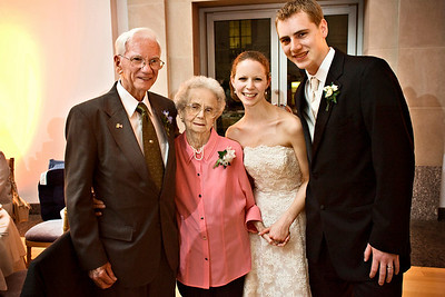 Rob and Emily with Grandpa and Grandma Page - Washington, DC ... April 26, 2008 ... Photo by Holland Photo Arts