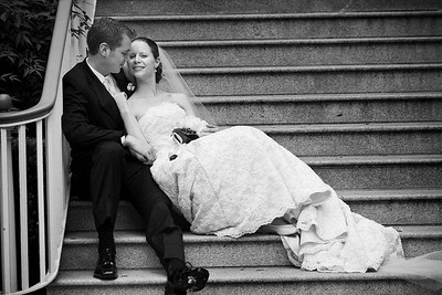 Relaxing after the wedding - Washington, DC ... April 26, 2008 ... Photo by Holland Photo Arts
