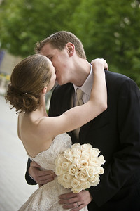 A kiss for the bride - Washington, DC ... April 26, 2008 ... Photo by Holland Photo Arts