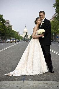 Posing on Pennsylvania Avenue - Washington, DC ... April 26, 2008 ... Photo by Holland Photo Arts