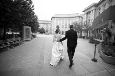 Rob and Emily outside the Ronald Regan Center - Washington, DC ... April 26, 2008 ... Photo by Holland Photo Arts
