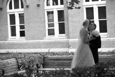 A private moment for the newly weds - Washington, DC ... April 26, 2008 ... Photo by Holland Photo Arts