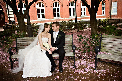 """""""We're married"""" - Washington, DC ... April 26, 2008 ... Photo by Holland Photo Arts"""