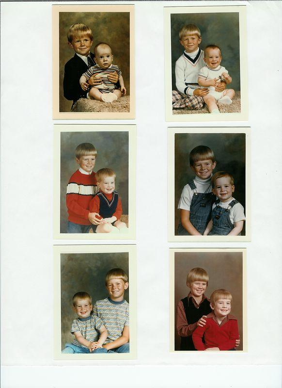 Ken and his big brother John