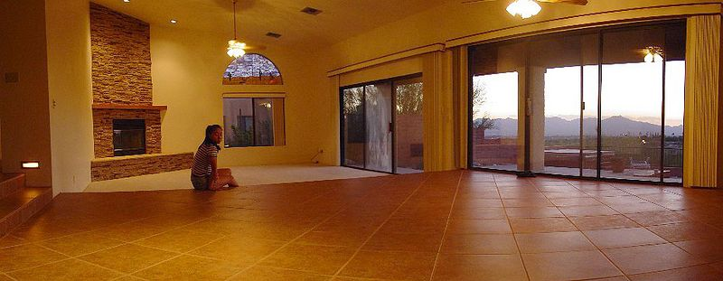 Ken and Christine's new home in Tucson.