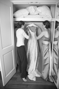 Pulling out the dress - Washington, DC ... April 26, 2008 ... Photo by Holland Photo Arts