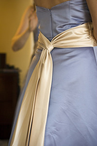 One of the bridesmaid's dresses - Washington, DC ... April 26, 2008 ... Photo by Holland Photo Arts