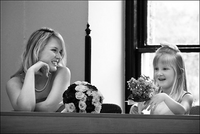The flower girl before the wedding - Washington, DC ... April 26, 2008 ... Photo by Holland Photo Arts (www.hollandphotoarts.com)