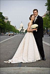 Rob and Emily with the Capitol in the background - Washington, DC ... April 26, 2008 ... Photo by Holland Photo Arts (www.hollandphotoarts.com)