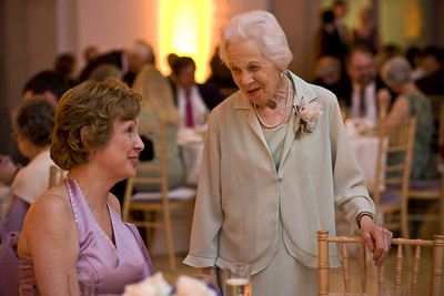 Grammy Conger talking with Mom Page - Washington, DC ... April 26, 2008 ... Photo by Holland Photo Arts