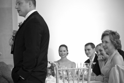 "Dan gives one of the best ""Best Man Speeches"" ever - Washington, DC ... April 26, 2008 ... Photo by Holland Photo Arts"