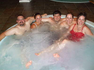 Last Night of Singlehood - Party in the Hot Tub!