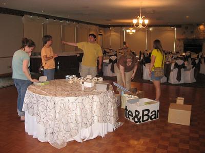 Wedding Setup on Friday