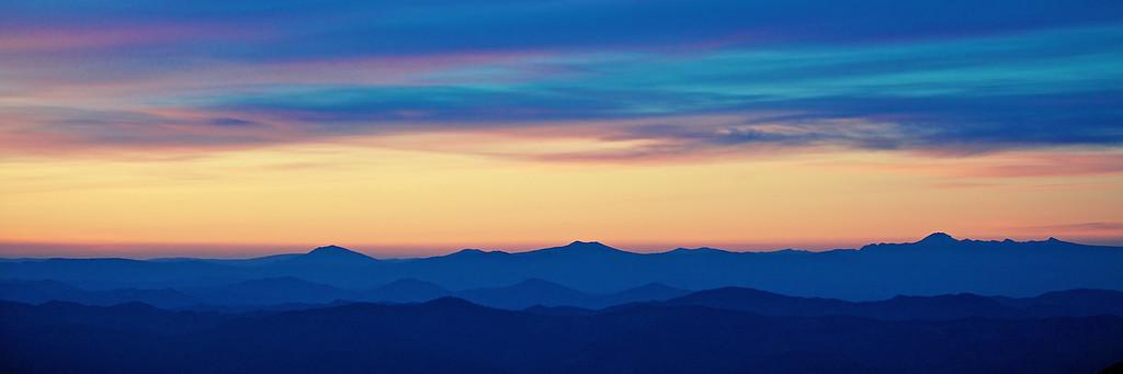 Distant Mt Shasta