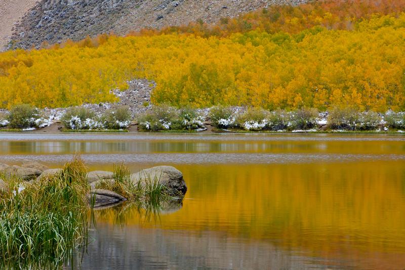 Rock and Reflection, North Lake